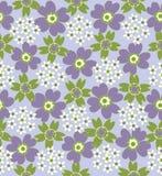 floral pattern seamless tiled Στοκ εικόνα με δικαίωμα ελεύθερης χρήσης