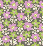 floral pattern seamless tiled Στοκ Εικόνα