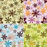 Floral pattern seamless vector Royalty Free Stock Images