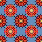Floral pattern seamless Stock Photography