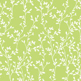Floral pattern. Seamless vector floral pattern with branches Stock Photos