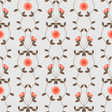 Floral pattern seamless Royalty Free Stock Photography