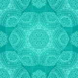 Floral pattern. Floral seamless pattern, vector image Royalty Free Stock Image