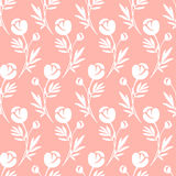 Floral pattern. Seamless vector pattern. Royalty Free Stock Image