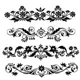 Floral Pattern Set-Vector Stock Photo