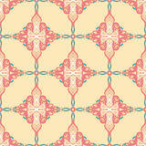Floral pattern with small hearts Stock Photos