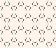 Floral pattern with small leafs Royalty Free Stock Photography