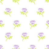 Floral pattern with small roses Royalty Free Stock Photography