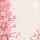 Floral pattern spring background royalty free illustration