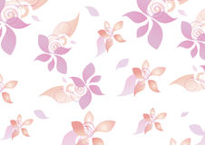 Floral Pattern teen girls background Royalty Free Stock Photo