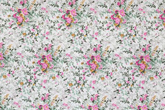 Floral pattern textile Royalty Free Stock Photo
