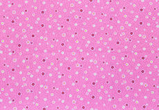 Floral pattern textile Stock Photo