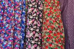 Floral pattern textile Stock Images