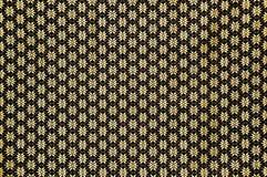 Floral pattern on Thai silk fabric texture