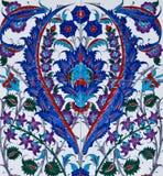 Ceramics decor flower tiles mosaic tile Stock Image