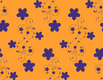Floral pattern. Vector. Royalty Free Stock Images