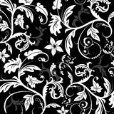 Floral pattern, vector Stock Images