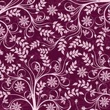 Floral pattern, vector Royalty Free Stock Image
