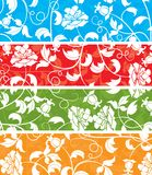 Floral pattern, vector Stock Photos