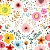 Floral pattern vector Stock Photography