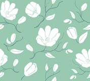 Floral pattern.Vintage background with blooming flowers. Floral pattern vector.Vintage blooming flower background Stock Photo