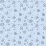 Floral pattern in vintage style Royalty Free Stock Photo