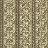 Floral pattern. Wallpaper baroque, damask. Gold color. Seamless vector background Royalty Free Stock Photos