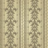 Floral pattern. Wallpaper baroque, damask. Gold color. Seamless vector background Royalty Free Stock Photography