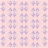 Floral pattern. Wallpaper baroque, damask. vector background. Pu Royalty Free Stock Photo