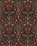 Floral pattern for wallpaper. Stock Photo
