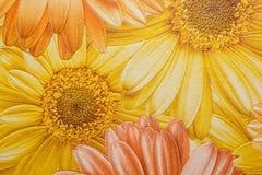 Floral pattern wallpaper Stock Photo