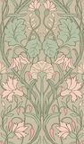 Floral pattern for wallpaper. Tender floral pattern. Seamless filigree ornament. Stylized template for wallpaper, textile, linen Royalty Free Stock Images