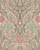 Floral pattern for wallpaper. stock illustration