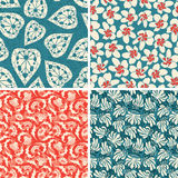 Floral patterns Royalty Free Stock Photo