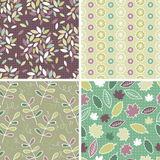 Floral Patterns and seamless backgrounds. Printing onto fabric a Royalty Free Stock Photography
