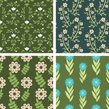 Floral patterns Stock Photo