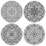 Floral patterns set Royalty Free Stock Images