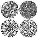 Floral patterns set. Vector illustration Stock Photo