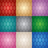 Floral patterns set. Set of floral seamless patterns, vector eps 10 Stock Photography