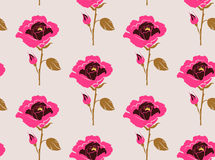 Floral peony seamless pattern. Flowers . Vector illustration eps 10 stock illustration