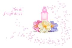 Floral perfume Royalty Free Stock Photography