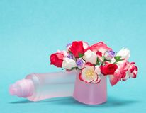 Floral perfume Royalty Free Stock Photos