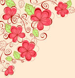 Floral pink background Royalty Free Stock Photography