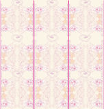 Floral pink seamless patterns Stock Image