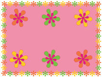 Floral Placemat Royalty Free Stock Images