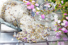 Floral potpourri with a fresh aromatic scent Royalty Free Stock Photo