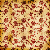 Floral Print Background stock image