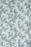 Floral print fabric Royalty Free Stock Photo