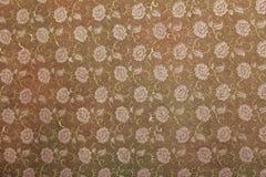 Floral print handmade art paper Royalty Free Stock Image