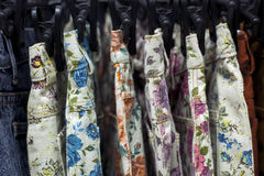 Floral Print Short Stock Images